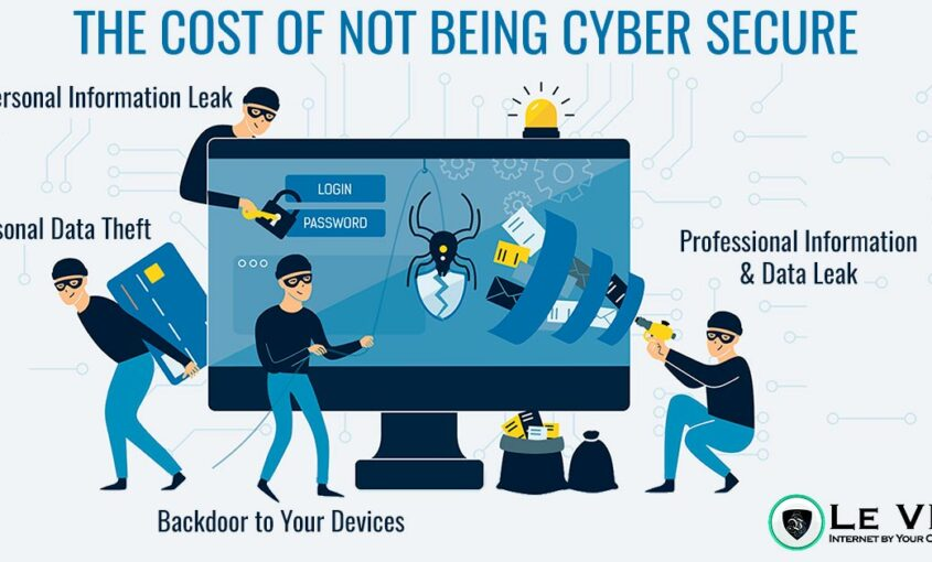 Le VPN to ensure safety in the online world full of cyber crime. | Le VPN