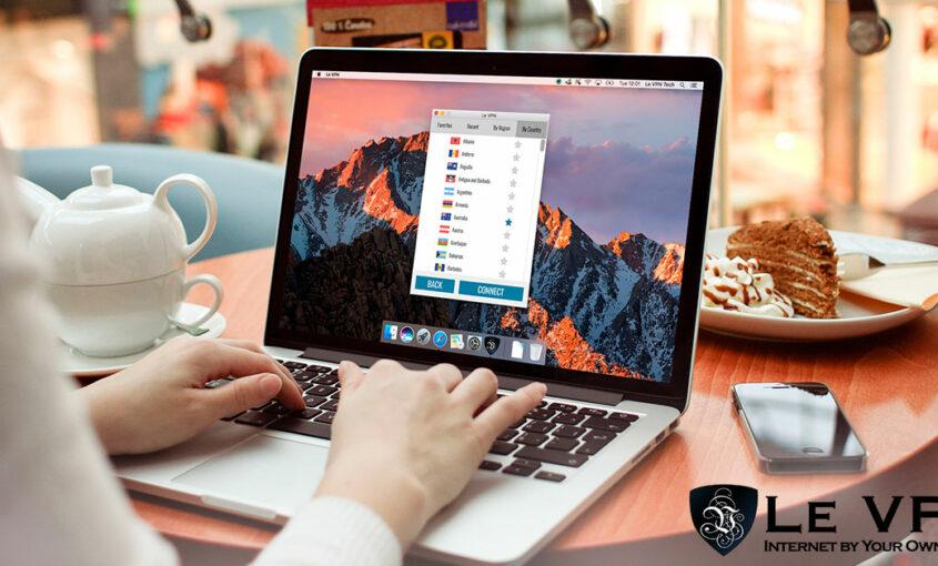 Le VPN's Windows 10 VPN software for secure browsing. | Le VPN