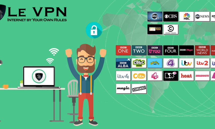 Opt for VPN Netflix to bypass geo-restrictions and censorship. | Le VPN