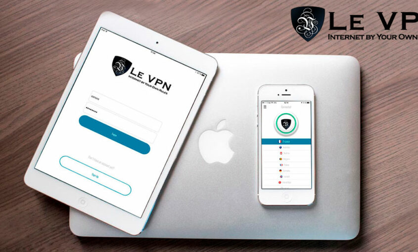 100% online security with Le VPN's best VPN Android app. | Le VPN