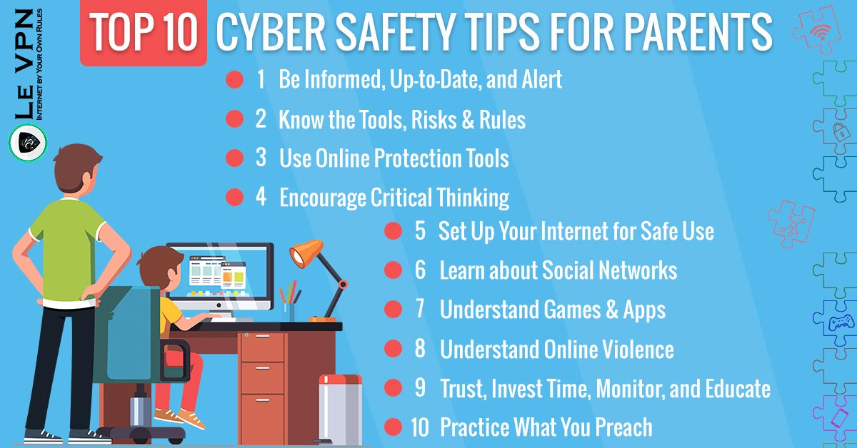 Top 10 Cyber Safety Tips for Parents
