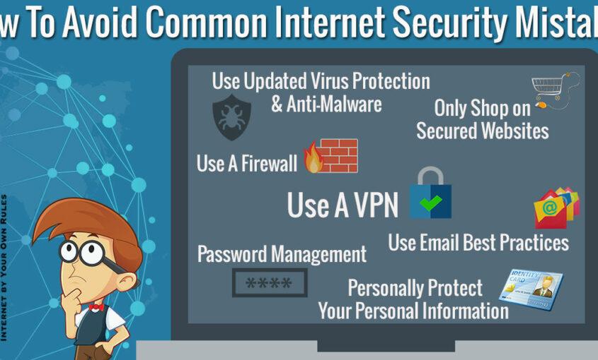 Bad online habits that impact your internet safety. | Le VPN