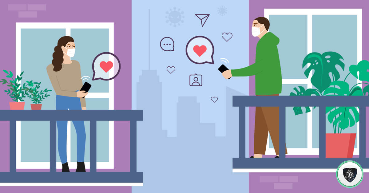 Love in the Age of Corona: What to Do When You Meet People Online?