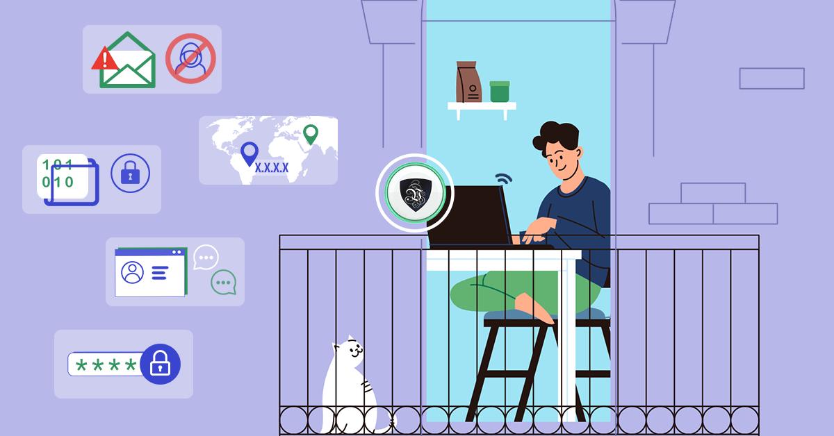 Feel Safe when Working Online