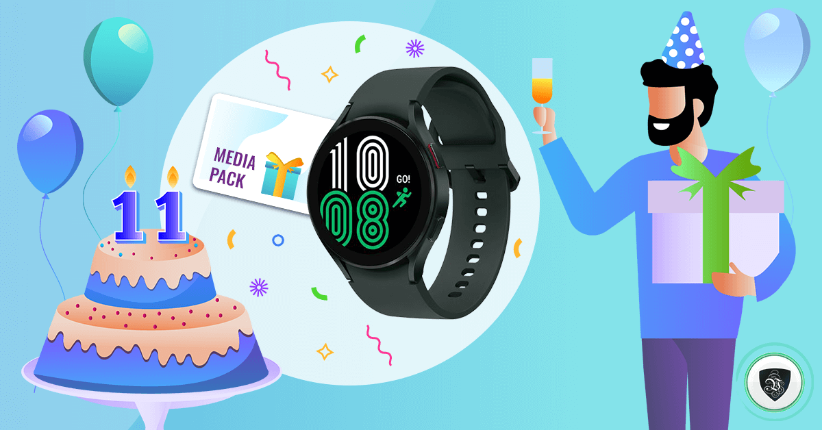 Le VPN Giveaway for our 11th Birthday: Win Samsung Galaxy Watch 4!