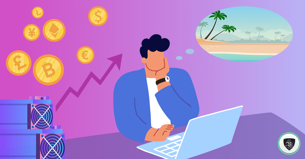Can Cryptocurrency Miners have a Vacation?