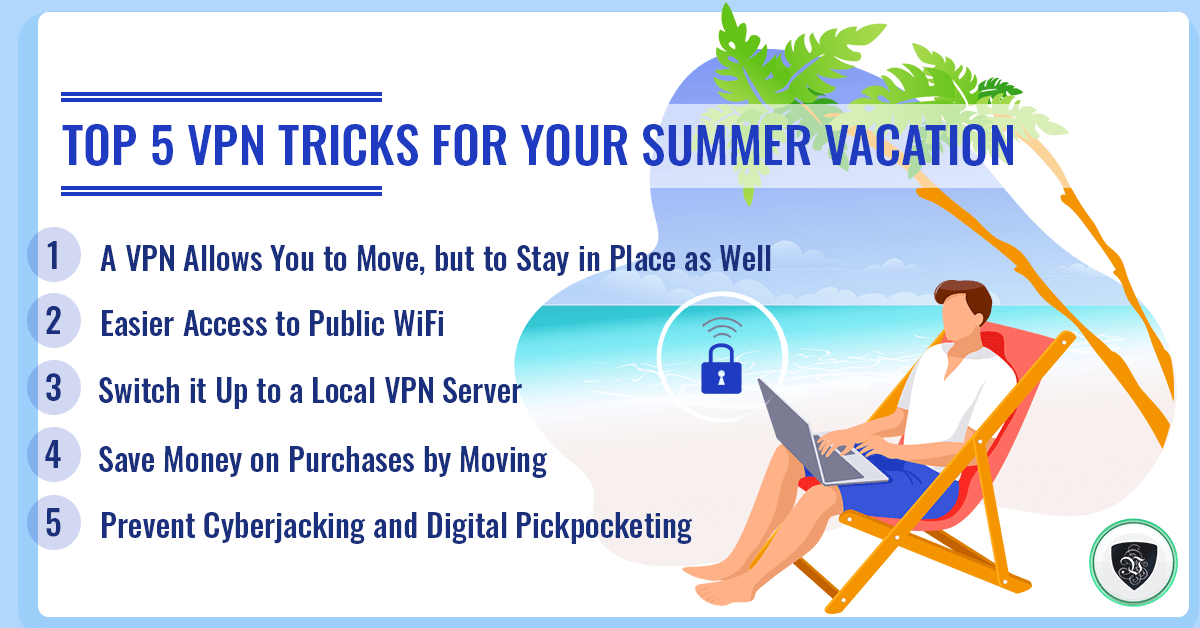 Top 5 VPN Tricks for Your Summer Vacation